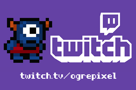 Ogre Pixel Twitch Channel
