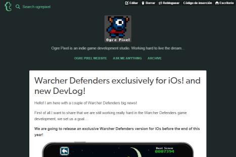 Ogre Pixel blog