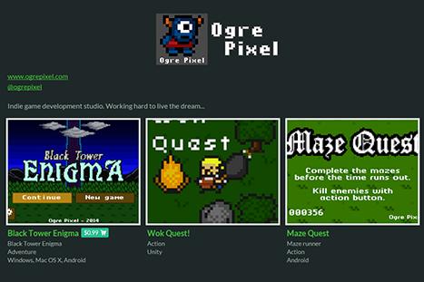Ogre Pixel Itch.io
